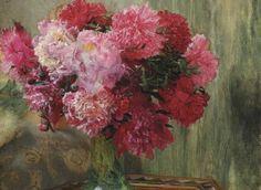 18 - Lawrence Alma-Tadema: Japanese Peonies