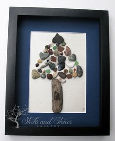 Whimsical Home Decor - Abstract Art - Gifts For Men - Nature Lovers Art - Stone Art Work  on Etsy, $75.00 CAD