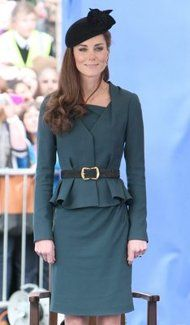 Kate Middleton Peplum