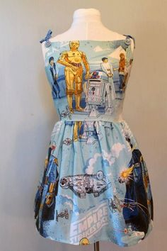 one of a kind star wars dress. via Etsy.