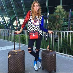 Chiara Ferragni #Niza #airport