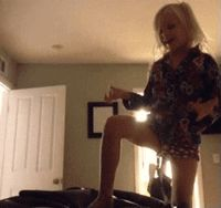 Kenadee stomping like her dad. *curls into a ball* just leave me to cry alone I've been crying over this for 20 minutes
