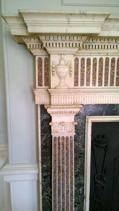 Georgian Fireplace detail.