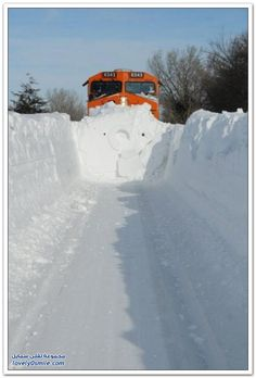 MadinaWay : Message: Trains In Snow