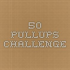 50 pullups challenge  My vision is to help people live healthy, fulfilling lives...on and off line. Visit http://VibrantExistence.com
