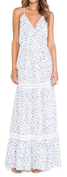 Butterflies maxi dress