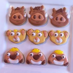 Lion Cupcakes, Baking Bad, Lion King Party, Lion King Simba, Creative Cakes, Party Themes, Party Ideas, 4th Birthday, Cookie Decorating