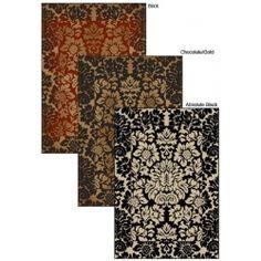 Amalfi Paradise rug- I like it in Brick.