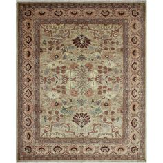 Darby Home Co One-of-a-Kind Leann Hand Knotted Rectangle Wool Gray Area Rug & Reviews | Wayfair