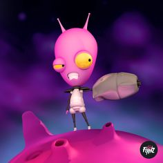 Alien 3d, realizado para la semana del espacio 2014