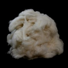 Paradise Fibers De-Haired White Chinese Cashmere Down