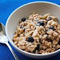 Blueberry Walnut Baked Oatmeal Recipe