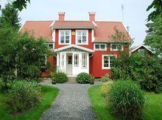Villa Vilan (Småland, Sweden / Schweden / Sverige): The house (summer)