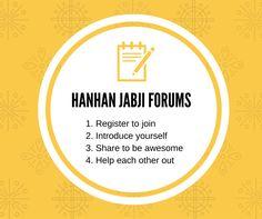 Go to the Hanhan Jabi Forums