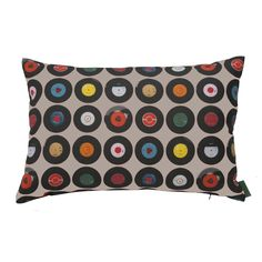Sevens Taupe Cushion - 60x40cm from Ella Doran