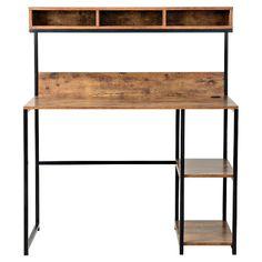 Homestar Laptop Desk with Hutch - Homestar
