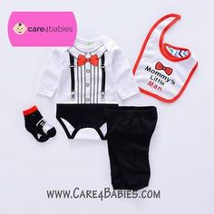 $15.89 Infant Baby Boy Mommy's little Man Red Black Rompers Trousers Socks BibTo Buy PM Us or Visit Us At https://www.care4babies.com/products/infant-baby-boy-mommys-little-man-red-black-rompers-trousers-socks-bib#infantbabyboymommyslittlemanredblackromperstrouserssocksbib #clothingboys #babyboyclothing #cuteinfantboyclothes #newbornboyclothes