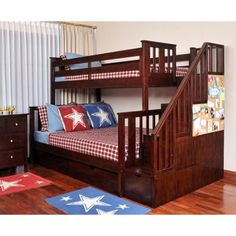 Bo te lit superpose simple et double bois massif couleur for Lit escamotable costco