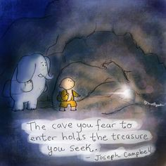 The cave you fear.