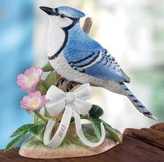 Lenox ChinaAnnual Garden Birds: Blue Jay, 2013