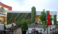Vertical Garden Sumarecon Mall Serpong salah satu Vertical Garden hasil karya Godongijo