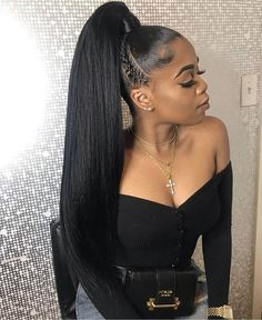 hairstyles demo hairstyles kinky hairstyles medium length hair hairstyles in a ponytail hairstyles without weave hairstyles straight hair hairstyles updo black braided hairstyles Weave Ponytail Hairstyles, Ponytail Styles, Sleek Ponytail, Curly Hair Styles, Natural Hair Styles, Black Hairstyles, Curly Ponytail Weave, Dance Hairstyles, Ponytail With Braiding Hair