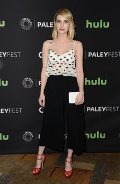 This Emma Roberts Outfit Is Perfect for Every Spring Wedding | WhoWhatWear