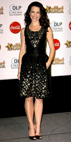 Look of the Day - March 21, 2010 - Kristin Davis in Oscar de la Renta from #InStyle