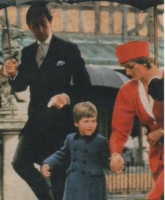 April 21st 1986 :Princess Diana with Prince William attends Thanksgiving Service, Westminster Abbey, honouring the Queen's 60th birthday. Description from pinterest.com. I searched for this on bing.com/images