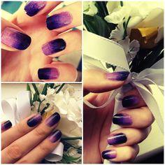 gorgeous purple gradient!!