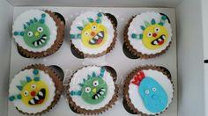 Henry hugglemonster cupcakes from www.bluestarbakes.co.uk