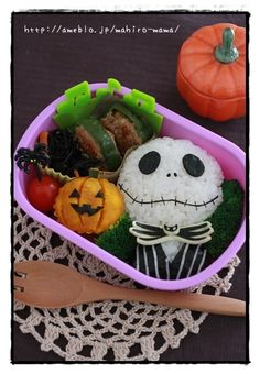 Nightmare Before Christmas bento lunch