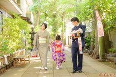 七五三の出張撮影 @品川区・戸越八幡神社