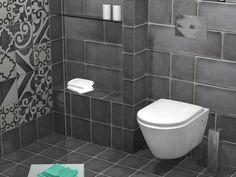 Κρεμαστή λεκάνη Νορμ-50 από το Ιταλικό εργοστάσιο της GSI, σε συνδυασμό με εντοιχισμένο καζάνι Geberit. Toilet, Bathroom, Washroom, Flush Toilet, Full Bath, Toilets, Bath, Bathrooms, Toilet Room