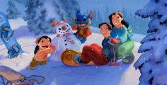 A Behind-the-Sketch Look: Art from Favorite Disney Holiday Moments