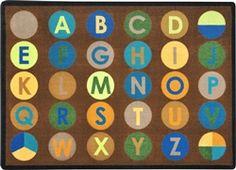 Alpha Dots Rug Earthtone - JC1801ETXX - Joy Carpets