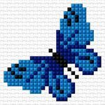 Elisa Webmail :: Sinulla on samanlaisia tauluja kuin leivonnaiset, Jälkiruoat ja 12 muuta Easy Cross Stitch Patterns, Small Cross Stitch, Butterfly Cross Stitch, Cross Stitch Baby, Cross Stitch Animals, Cross Stitch Flowers, Loom Patterns, Cross Stitch Designs, Mosaic Patterns