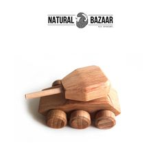 t31_Wooden Tank /  Finished by Hand, Eco Made  from Natural Bazaar by DaWanda.com