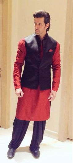 Clothing ideas for awesome dudes Hrithik Roshan Traditional Outfit
