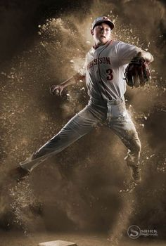 The best & most creative GUYS SENIOR PORTRAITS anywhere. Original ideas to capture your unique personality, interests, sports & hobbies. Start visualizing the possibilities! Baseball Senior Pictures, Softball Pictures, Sports Pictures, Boy Senior Portraits, Studio Portraits, Baseball Banner, Sports Baseball, Sport Photography, Portrait Photography
