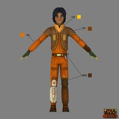 Learn the correct shades and hues for your Star Wars Rebels costumes -- straight from the show's creators.