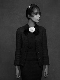 Chanel The Little Black Jacket ~ Leila Bekhti