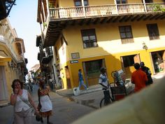 Streets of Cartagena. Colombia