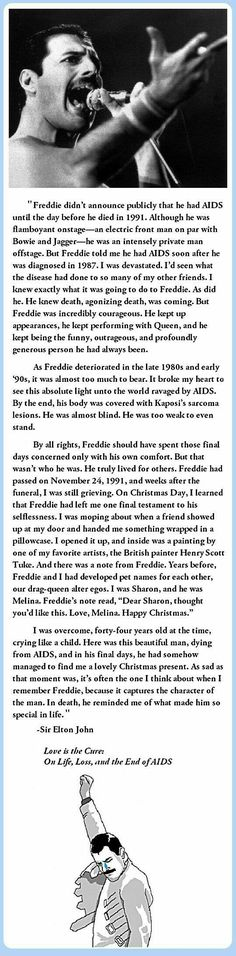 That's the man Freddie truly was. He always made sure his loved ones were taken care of. ❤️