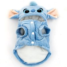Pet-Cartoon-Stitch-Dog-Clothes-Halloween-Coat-Puppy-Cat-Costumes-Apparel-Winter You are in the right place about Pet accessories cat Here we offer you the most beautiful pictures about Dog Training Methods, Training Your Dog, Pet Dogs, Dogs And Puppies, Cute Dog Clothes, Gato Gif, Easiest Dogs To Train, Fete Halloween, Cat Costumes