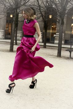Christian Dior pre-fall. So pink!