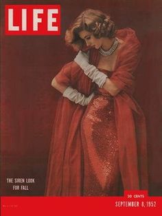 Suzy Parker on Life Magazine cover #model #Life #magazine