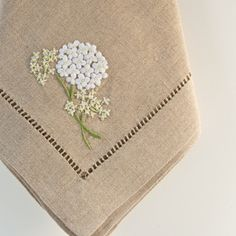 hydrangea table runner - Google Search