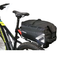 ROSWHEEL Bicycle MTB Waterproof Frame Triangle Front Bag 6L Large Capacity New