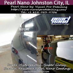 Never Wax Again - Ceramic coatings from Visual Pro Detailing This Silverado recieved Level 2 Pearl Nano Ceramic Coating package, and will be easier to clean and maintain, resistant to scratches, bug etching, bird droppings, and UV fading for many years to come.Ready to put the wax bottle away for good, and have your ride looking showroom new after a simple wash? Call to schedule your ceramic coating appointment at (618) 983-9706 or visit Www.visualprodetailing.com. For Interested…